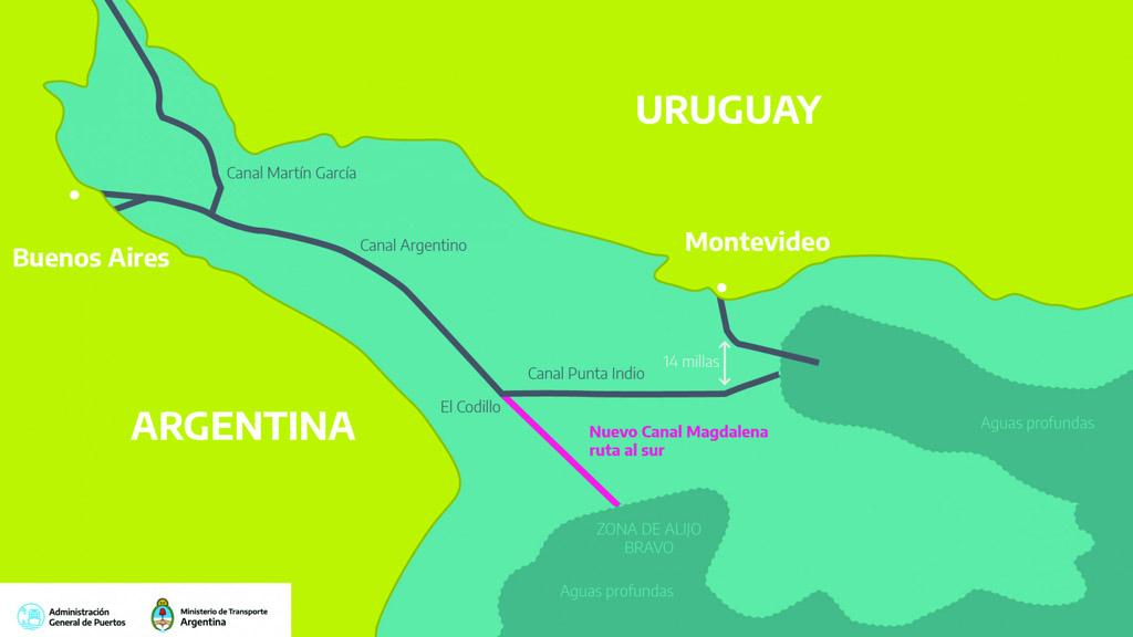 Camino despejado para avanzar en la licitación del canal Magdalena