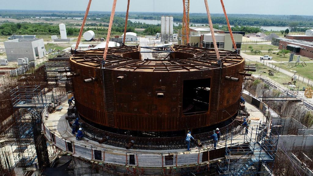 CNEA y la empresa NA-SA firman contrato para completar la construcción del CAREM