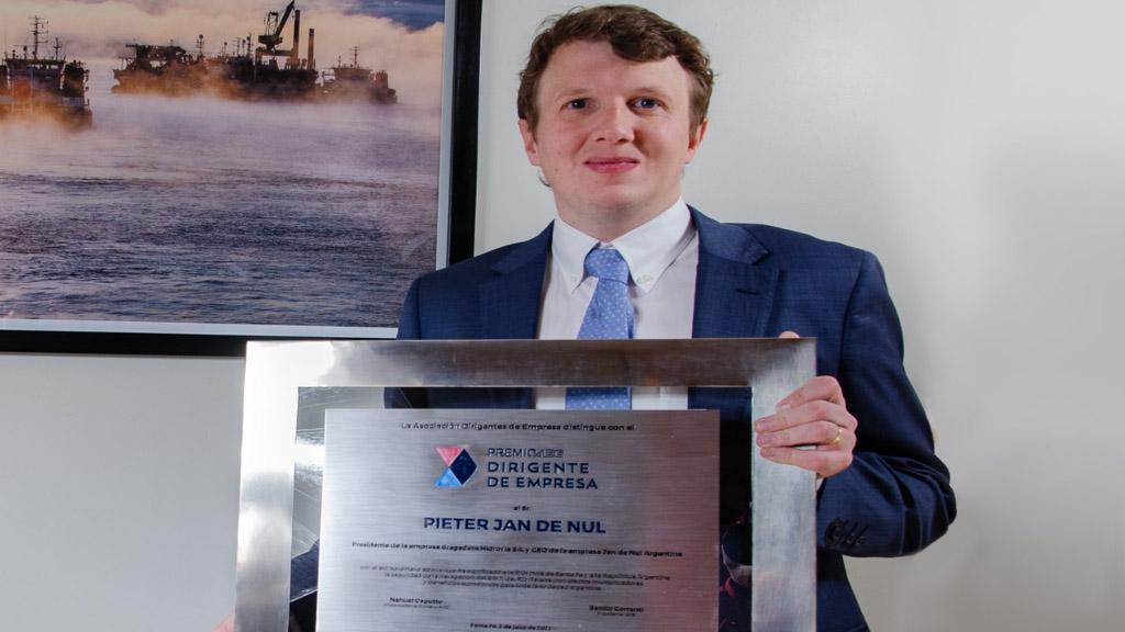 Pieter Jan de Nul es el Dirigente de Empresa 2021