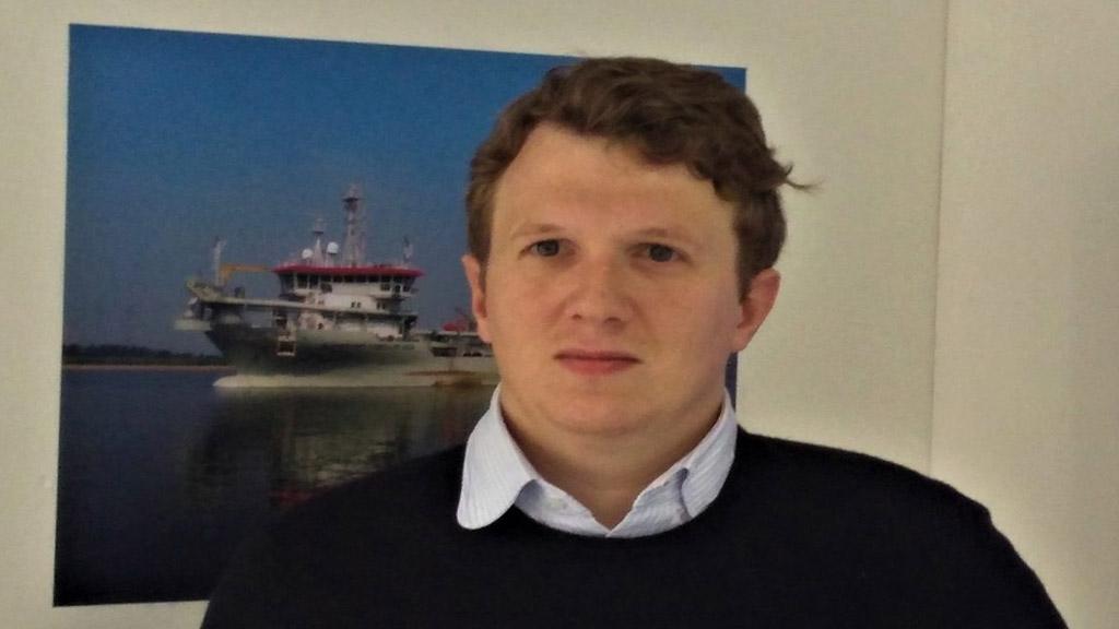 """Pieter Jan De Nul: """"hacemos el máximo esfuerzo para que los barcos sigan navegando"""""""